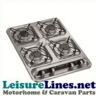 HB 4500 4 burner built in hob